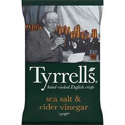 Chips assaisonnées au sel de mer et vinaigre de cidr...