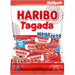 Tagada - Mini sachets de bonbons Méga Fête