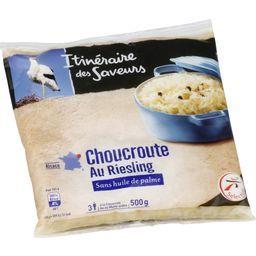 Choucroute cuisinée au Riesling