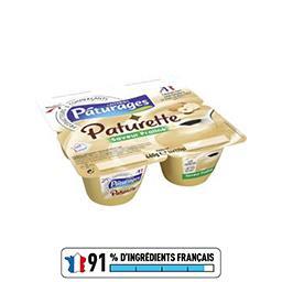 Paturette - Crème dessert saveur praliné