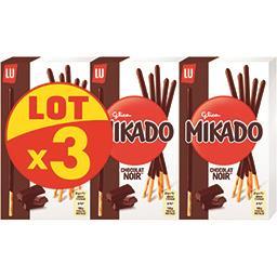 Mikado - Biscuits nappés de chocolat noir