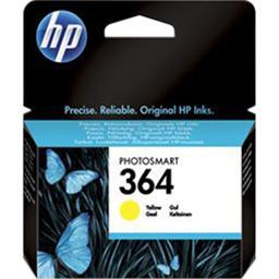 Hewlett Packard Cartouche d'encre N°364 jaune