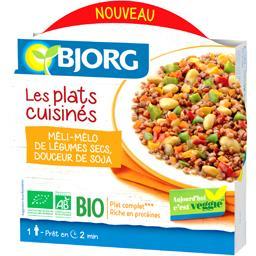 Les Plats Cuisinés - Méli-mélo de légumes secs soja BIO