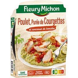 Poulet & purée de courgettes