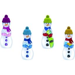 Riegelein Bonhomme de neige en chocolat avec bonnet de laine Boîte de 125 g