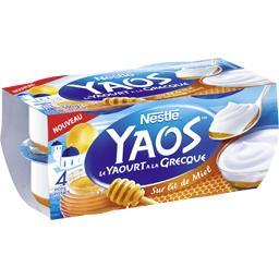 Yaos - Le Yaourt à la Grecque sur lit de miel