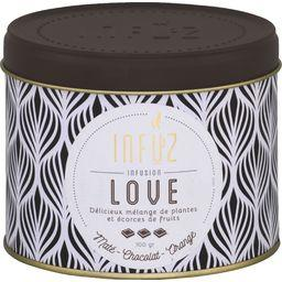 Infuz Infusion Love maté chocolat orange la boite de 100 g