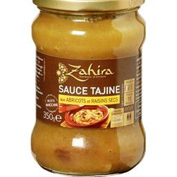 Sauce tajine aux abricots et raisins secs