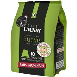 Café Launay Capsules de café Suave le paquet de 10 - 53 g