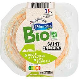 Bio Pâturages Saint-Félicien BIO le fromage de 150 g