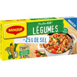 Maggi Bouillon Kub légumes réduit en sel