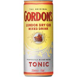 London Dry Gin Mixed Drink Tonic