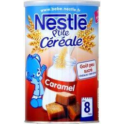 P'tite Céréale - Céréales caramel, 8+ mois