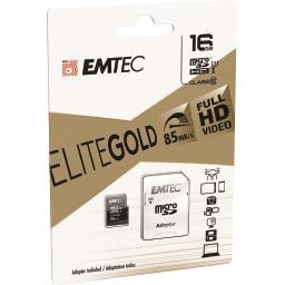Carte mémoire micro SDHC 16GB UHS1 U1 EliteGold
