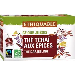 Thé Tchaï aux épices BIO