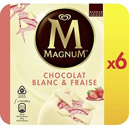 Magnum Magnum Glaces Strawberry & White