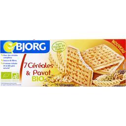 Biscuits aux 7 céréales & pavot bio