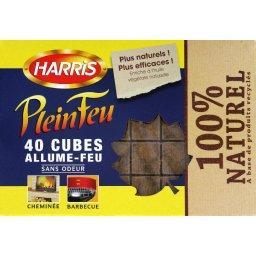 Cubes allume-feu sans odeur 100% naturel