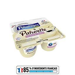 Paturette - Crème dessert chocolat blanc