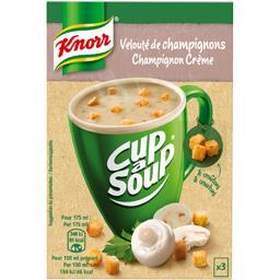 Cup a Soup - Soupe Velouté de champignons