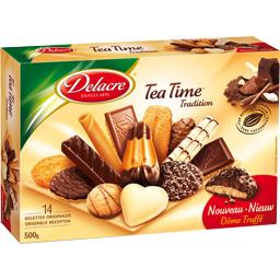 Tea Time - Assortiments de biscuits, Tradition