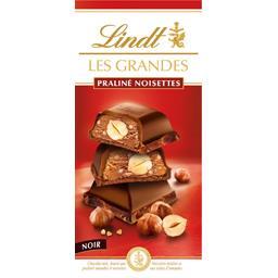 Chocolat noir praliné noisettes
