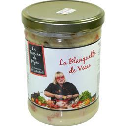 Les Mijotés De L'Abbaye Blanquette de veau le bocal de 750 g
