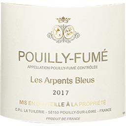 Pouilly Fumé Les Arpents Bleus vin Blanc sec 2017