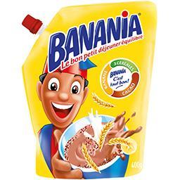 Petit déjeuner instantané banane cacao/3 céréales