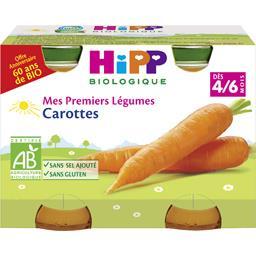 Mes Premiers Légumes - Carottes BIO, dès 4/6 mois