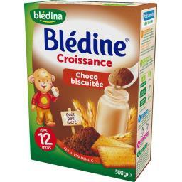 Blédine Croissance - Céréales choco biscuitée, dès 1...
