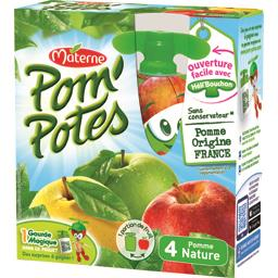 Pom'Potes - Compote pomme nature