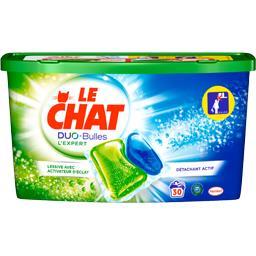 Le Chat Duo Bulles - Doses de lessive liquide L'Expert
