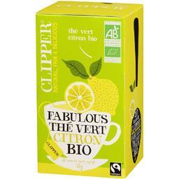 Thé vert Fabulous au citron bio