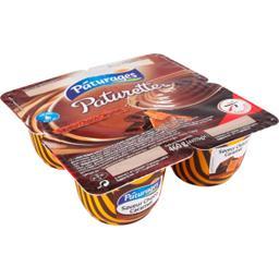 Paturette - Crème dessert saveur choco caramel
