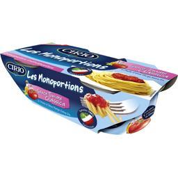 Cirio Les Monoportions - Sauce tomate Classica les 2 pots de 110 g