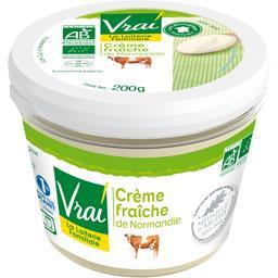 Crème fraîche de Normandie BIO