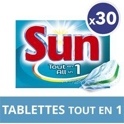 Tout en 1 - Tablette lave-vaisselle Tout en 1