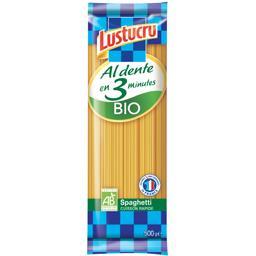 Spaghetti Al Dente en 3 minutes BIO