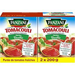 Tomacouli - Purée aux tomates fraîches basilic