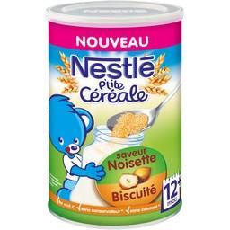P'tite Céréale - Céréales saveur noisette biscuité, ...
