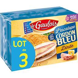 Le Gaulois L'Escalope Cordon Bleu dinde