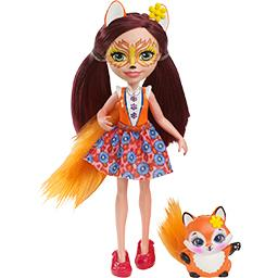 Mini-poupée renard