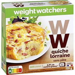 Quiche Lorraine sans pâte, 5PP