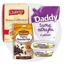 Madeleine aux pépites de chocolat