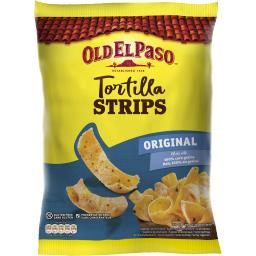 Old El Paso Crunchy Tortilla Stips Original