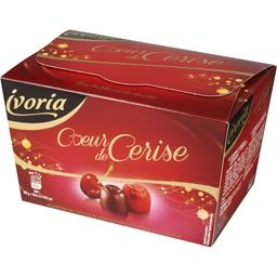 Ivoria Bonbons de chocolat cœur de cerise la boite de 206 g