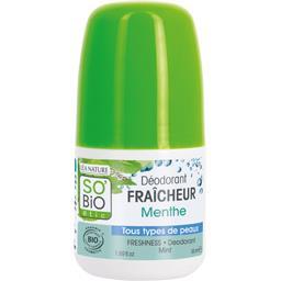 Déodorant fraîcheur menthe