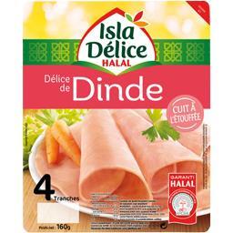 Délice de dinde cuit à l'étouffée halal