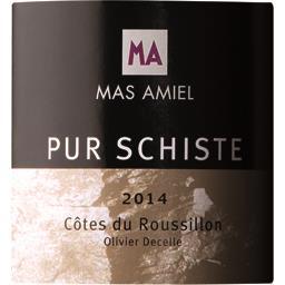 Pur schiste 2014 AOC, vin rouge côtes du Roussillon